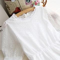 소녀감성 셀프 웨딩 드레스 원피스 6size 스몰웨딩 화이트