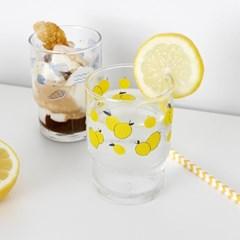 ANF 유리컵 - 레몬과 소라