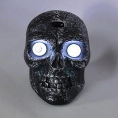 [파티스토리] 할로윈 LED블랙해골머리_(1339937)