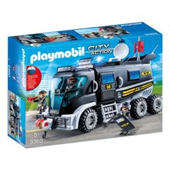 플레이모빌 경찰 특공대 트럭(9360)