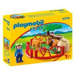 플레이모빌 1.2.3 사자 우리(9378)
