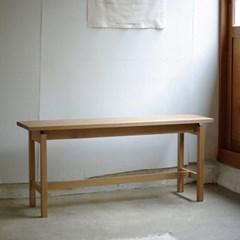 [고요퍼니처] 원목 벤치의자 Ⅱ