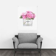 패브릭 포스터 꽃 북유럽 거실 그림 액자 플라워퍼퓸