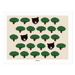 [카멜앤오아시스] Treasure Hunt 흑곰 포스터