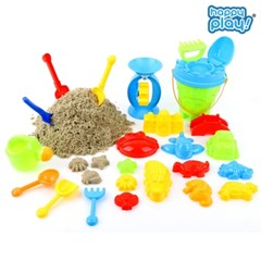 해피플레이 목욕놀이 모래 놀이 세트 아기 물놀이 장난감