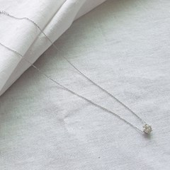 Everyday Cubic Necklace - Silver925