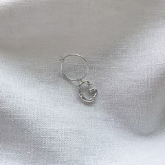[SET] Initials Earrings 2qty - Silver925