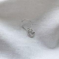 [SET] Initials Earrings 2qty - Silver925
