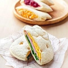 미키 키티 샌드위치틀 식빵틀 도시락만들기