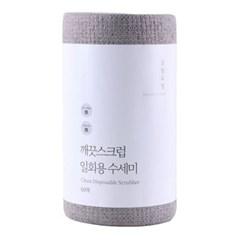 살림요정 깨끗스크럽 일회용 수세미 60매 단품/세트