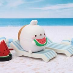 몰랑 여름시즌 한정판 피규어 - 몰랑이의 여름휴가 (박스)