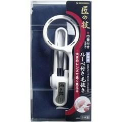 일본 그린벨 돋보기 핀셋