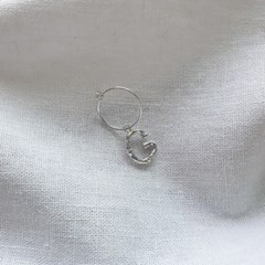Initials Earring - Silver925