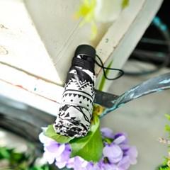 kiu우산 오르테가 블랙 미니 5단우산 K33-101