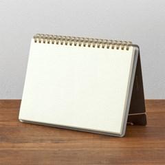 Notebook A5 +Stand Cross Dot Gridded