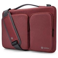 A42 맥북 아이패드프로 노트북 가방 11.6인치-13인치 버건디