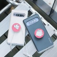 갤럭시S8플러스 (G955) Liso-CatTok 그립톡 카드 범퍼 케이스