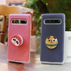 아이폰7 Liso-DogTok 그립톡 카드 범퍼 케이스