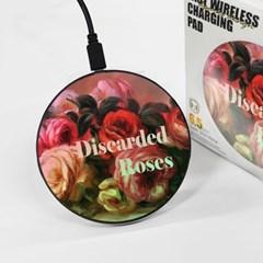 [르누아르] Discarded Roses - 무선충전 명화트윙클패드