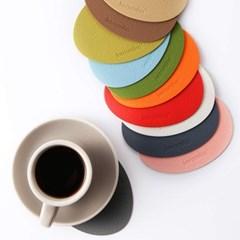 케라미카 실리콘 티코스터 컵받침 26타입 1P