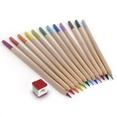 레고문구 색연필 12색+연필깎기