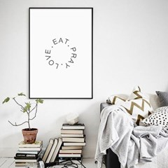 패브릭 포스터 성경 말씀 거실 인테리어 그림 액자 FA08 EAT