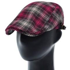 [더그레이]PMH33.면혼방 타탄체크 헌팅캡 남성 모자