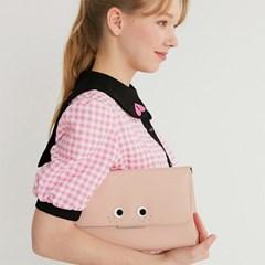 커스터마이징 주근깨 주얼 플랩 (Baby Pink)