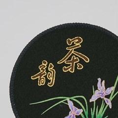 GZBL-016 꽃 무늬 찻잔 받침