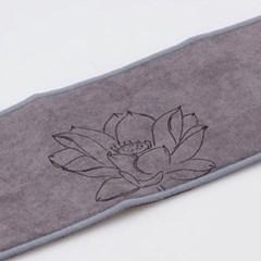 GZBL-011 연꽃 무늬 장형 찻잔 받침