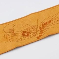 GZBL-009 오곡풍년 무늬 장형 찻잔 받침