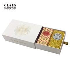 [클라우스포르토] 비누 선물세트 3개입(8741,시크,라반데르)