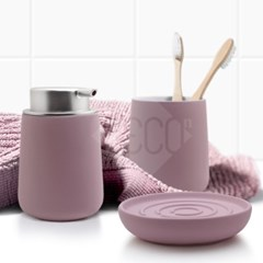 존덴마크 노바솝디스펜서+텀블러+비누홀더세트 핑크