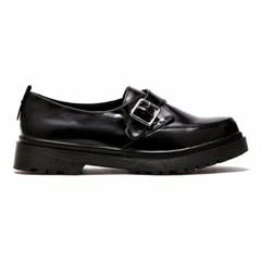 [피어포] One Strap Loafer_Black (W)