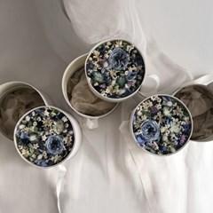 [프리저브드 플라워] 블루 플라워박스 용돈박스 선물박스