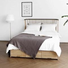 [하모니] L형 침대 서랍형 Q_(1343715)