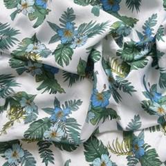 [Fabric] 풍기 인견 하와이안 플라워 2종