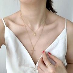 [925실버] 미니 하트 목걸이 mini heart necklace