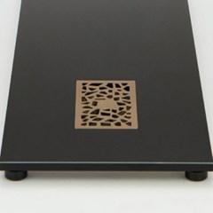 CP7026-P-B 알루미늄 합금 유연 차판 - 블랙