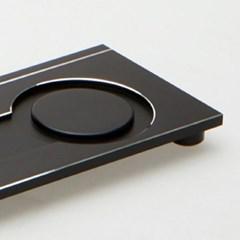 CP6015-Y-B 알루미늄 합금 선취 차판 -블랙