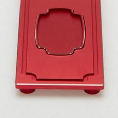 CP6015-H-R 알루미늄 합금 원보 차판 - 레드