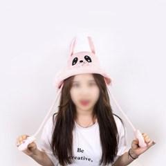 갓샵 귀 움직이는 여름 토끼모자 [여름용 핵인싸템! 토끼귀 밀짚]