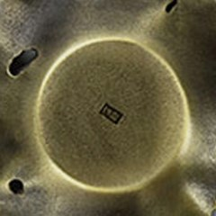 PJ190109-6 청동 하엽 찻잔 받침