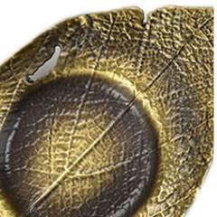 PJ190109-2 청동 나뭇잎 찻잔 받침