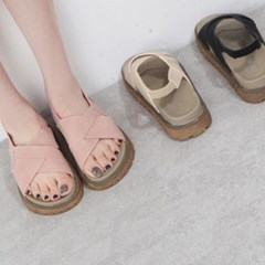 kami et muse Wide cross strap daily tall up sandal_KM19s316