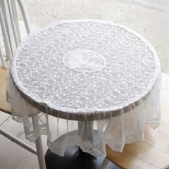 레이스 원탁 테이블 커버_(1646551)