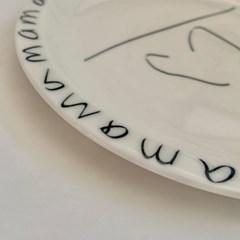 Mama _ round plate