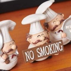 구스토 주방장 테이블장식 3p set(NO SMOKING)_(1647346)