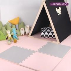 헤론티아 양면 퍼즐매트 50x50cm 20T/ 놀이방 체육관 유아매트