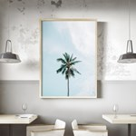 그린팜 야자수 보테니컬 그림 인테리어 액자 포스터